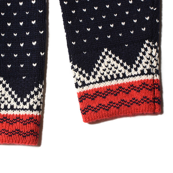 【DELIVERY】 STANDARD CALIFORNIA - Bird\'s Eye Nordic Sweater_a0076701_15381134.jpg