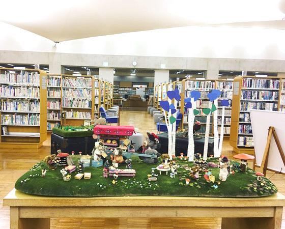 はじまりました!〜田原本町立図書館 まんまるパン Yoko-Bonの世界展 〜_d0077603_15474335.jpg
