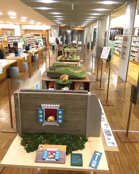はじまりました!〜田原本町立図書館 まんまるパン Yoko-Bonの世界展 〜_d0077603_15480388.jpg