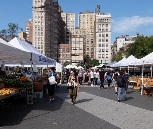 秋のニューヨークの青空市場風景_b0007805_07210756.jpg
