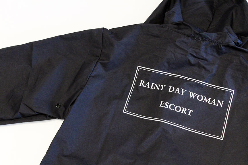 "LOOKER (ルッカー) "" RAINY DAY WOMAN ESCORT \"" HOOD COACH JKT_b0122806_14180473.jpg"