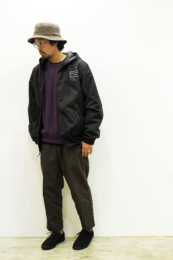 "LOOKER (ルッカー) "" RAINY DAY WOMAN ESCORT \"" HOOD COACH JKT_b0122806_14191691.jpg"
