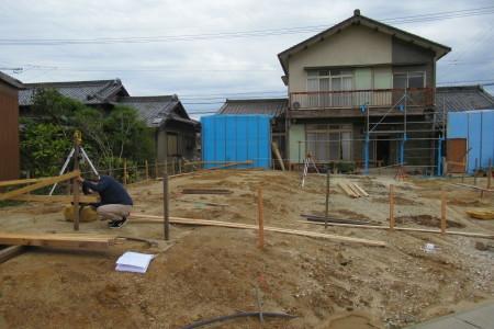 「駒場の家」丁張_b0179213_19201725.jpg