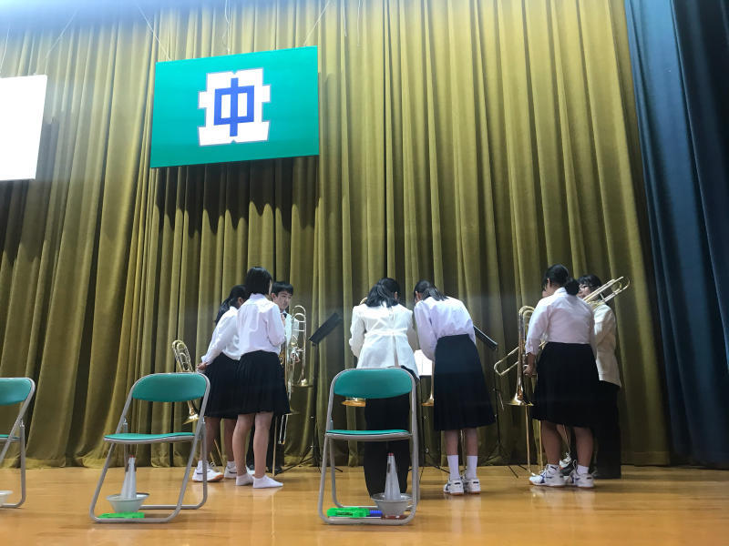 今日は、朝から倉敷市立北中学校にお邪魔しています!_d0016622_15315897.jpg