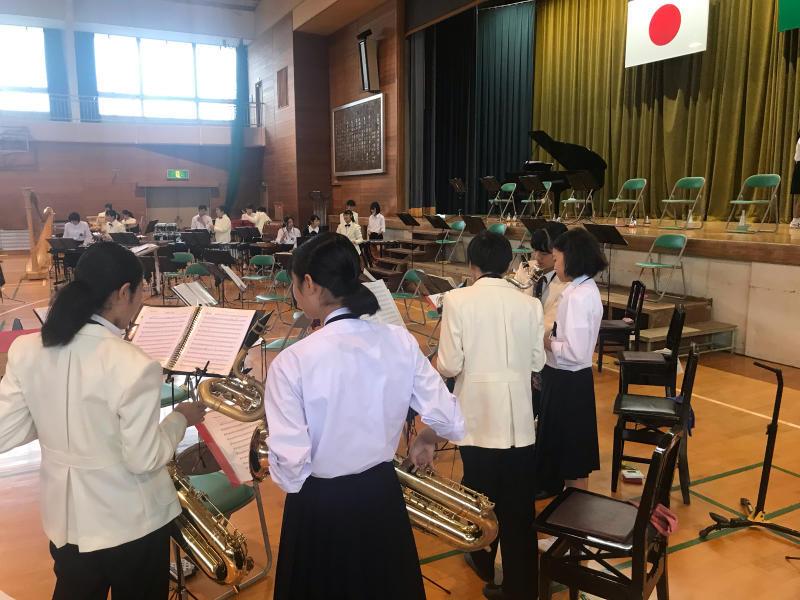 今日は、朝から倉敷市立北中学校にお邪魔しています!_d0016622_15330480.jpg