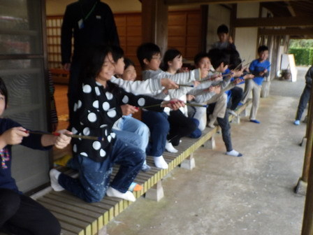 小学四年生の自然体験学習_a0123836_16092956.jpg