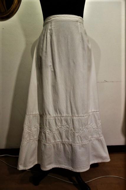 厚手コットンロングスカート53 半額  sold out!_f0112550_02103917.jpg