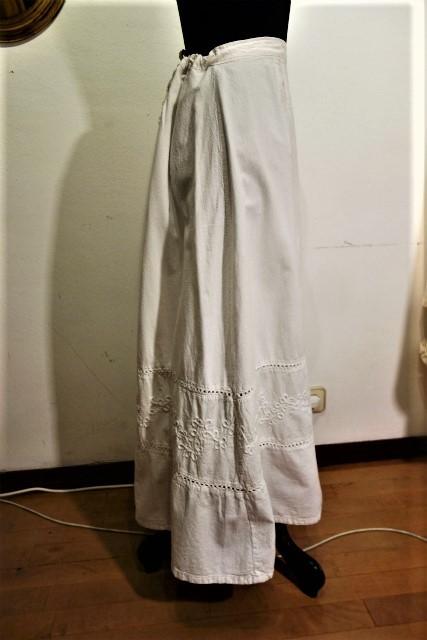 厚手コットンロングスカート53 半額  sold out!_f0112550_02160033.jpg