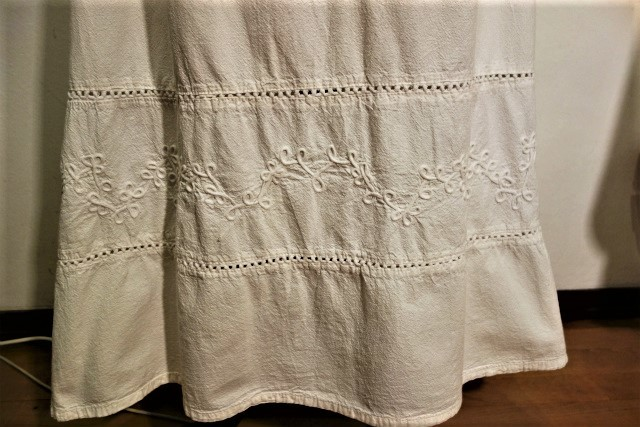 厚手コットンロングスカート53 半額  sold out!_f0112550_02160080.jpg