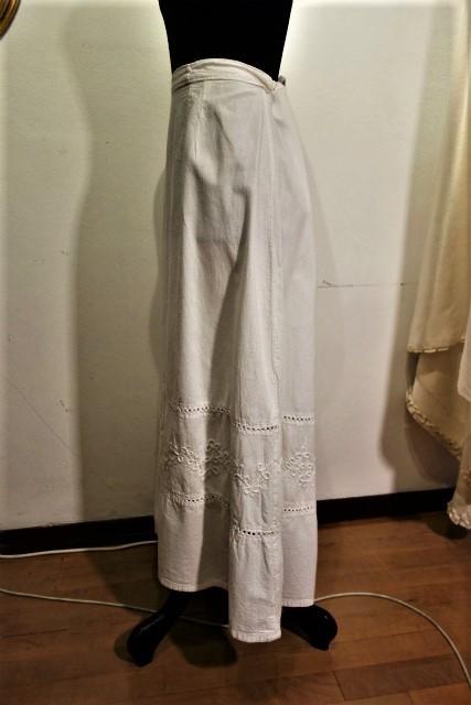 厚手コットンロングスカート53 半額  sold out!_f0112550_02160107.jpg