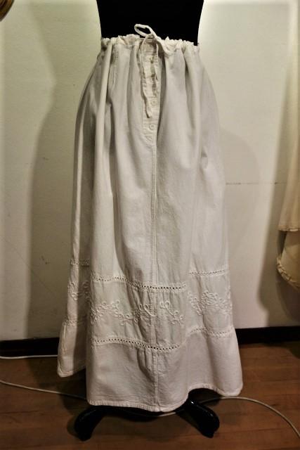 厚手コットンロングスカート53 半額  sold out!_f0112550_02160189.jpg