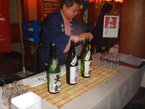 丸子匠宿新酒祭り マグロ汁出店。_f0175450_6315098.jpg