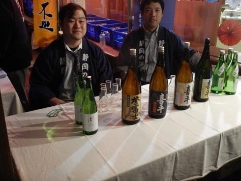 丸子匠宿新酒祭り マグロ汁出店。_f0175450_6322079.jpg