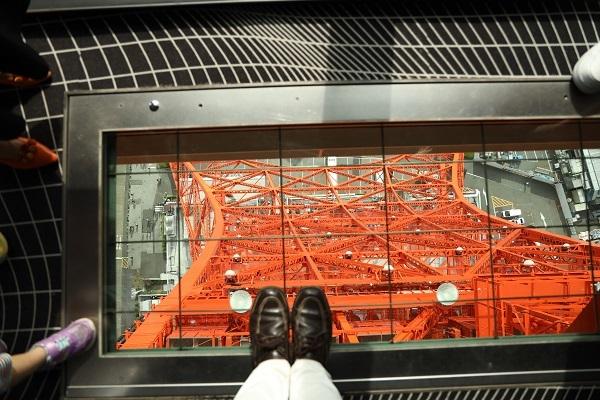 東京タワーに登りました*_b0328557_21413938.jpg