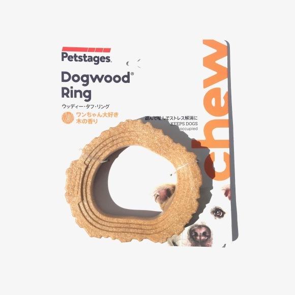 Petstages DOG WOOD Ring ペットステージ ドッグウッド リング_d0217958_12233874.jpg