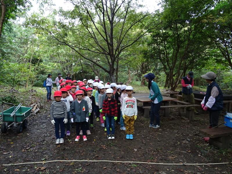 淡輪小学校1年生遠足「うみべの森探検」_c0108460_14474846.jpg