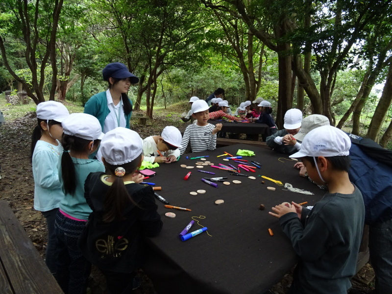 淡輪小学校1年生遠足「うみべの森探検」_c0108460_14574705.jpg