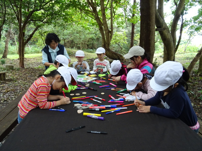 淡輪小学校1年生遠足「うみべの森探検」_c0108460_14574773.jpg