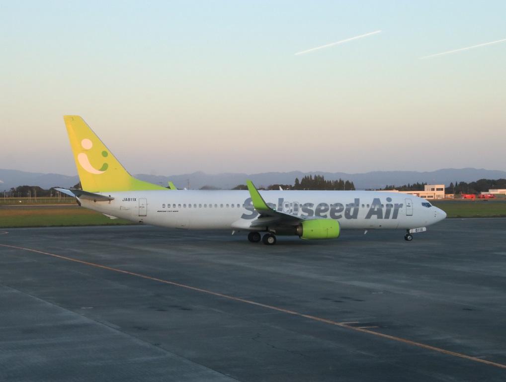 ソラシドエア 鹿児島空港レポート_d0202264_15585612.jpg