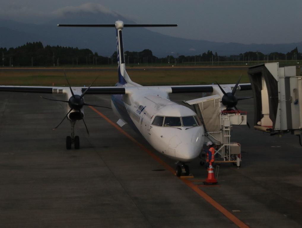 ダッシュ8-400 ANAウイングス 鹿児島空港レポート_d0202264_161690.jpg