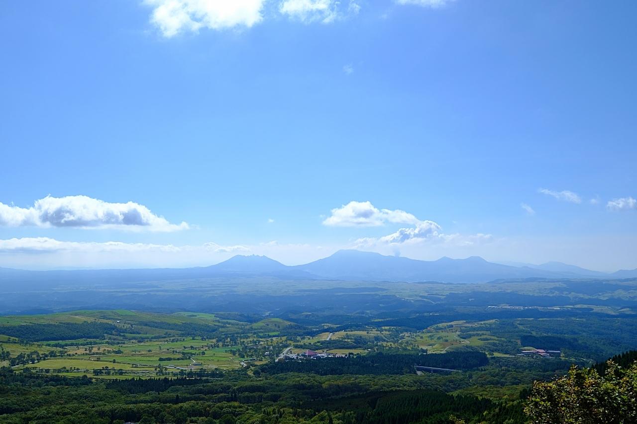 くじゅう連山と阿蘇五岳。_a0129474_23163402.jpg