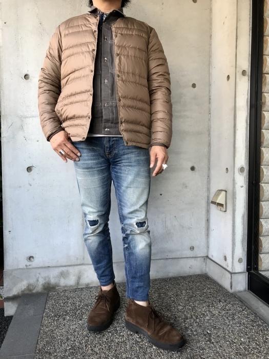 Le minor  別注  Soutien Collar COAT JACKET_d0152280_07482817.jpg