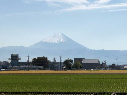 八ヶ岳も、富士山も、雪化粧。_d0338282_15512846.jpg