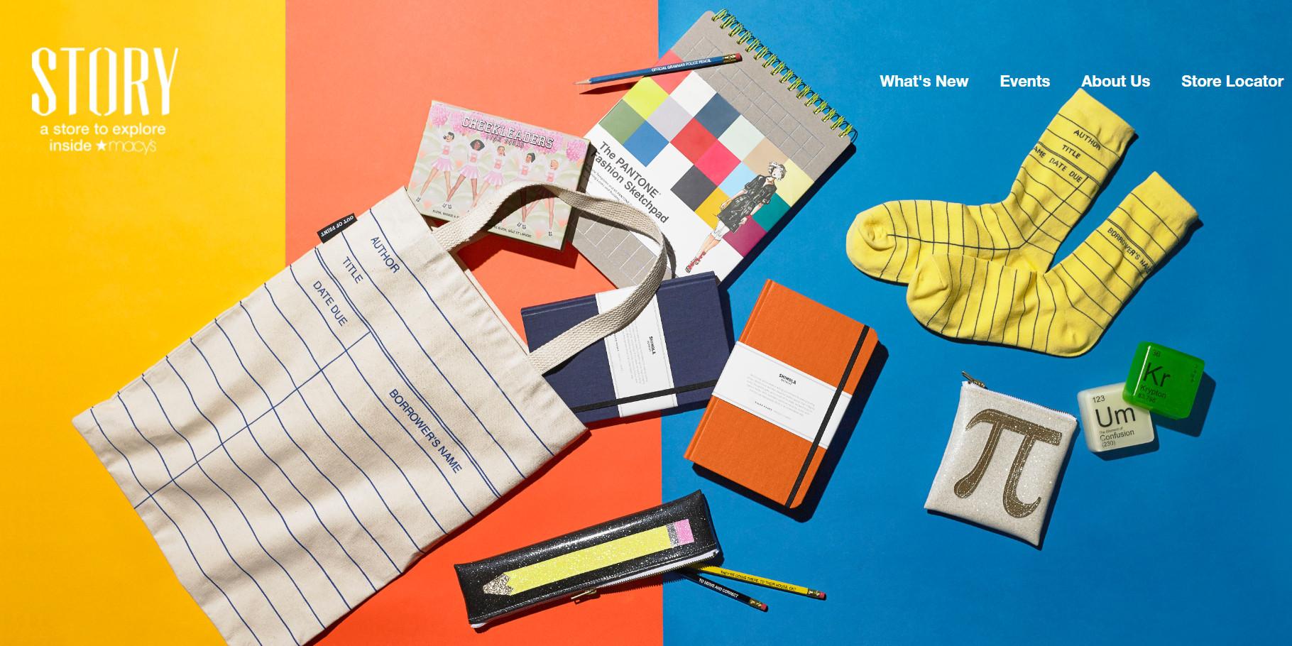 メイシーズ店内ストーリーの第3弾テーマは、「School of Style」(スタイルの学校)_b0007805_08114080.jpg