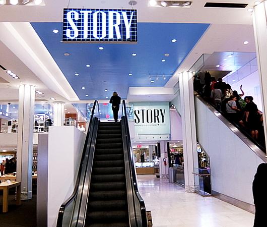 メイシーズ店内ストーリーの第3弾テーマは、「School of Style」(スタイルの学校)_b0007805_08185030.jpg