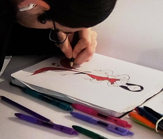 新感覚小売店ストーリー、School of Style編にアート・コーナー_b0007805_23271126.jpg