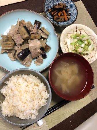 ナスの味噌炒め_d0235108_20182764.jpg