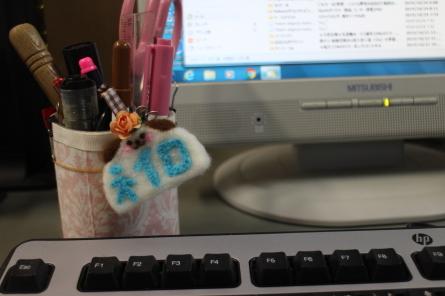 感謝祭~ 羊毛フェルト名札作り(^^)_f0170713_06175619.jpg
