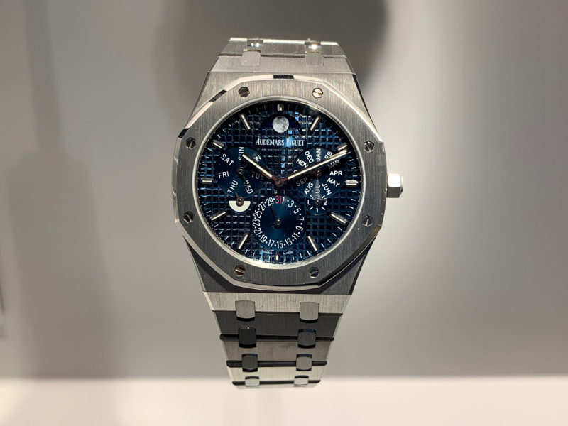 I was joining in AUDEMARS PIGUET exhibition at Roppongi_c0128818_08390655.jpg