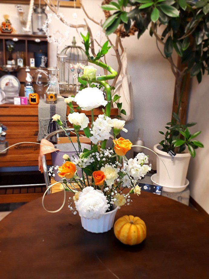 10月のフラワーアレンジメント教室_c0226331_15513959.jpg