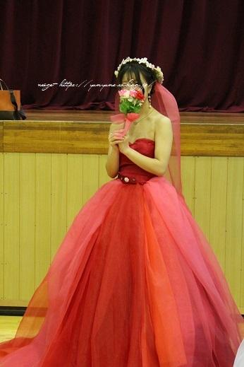 最後の学園祭。卒業課題制作の手作りドレス発表会で感激の嵐!!_f0023333_22191652.jpg