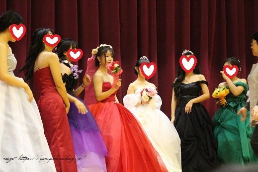 最後の学園祭。卒業課題制作の手作りドレス発表会で感激の嵐!!_f0023333_22191657.jpg