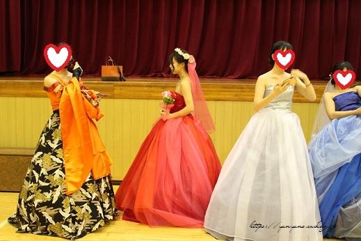 最後の学園祭。卒業課題制作の手作りドレス発表会で感激の嵐!!_f0023333_22191693.jpg