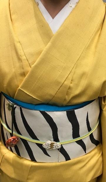 サローネ・動物柄の象の着物や虎の帯・明日は時代祭。_f0181251_15405765.jpg