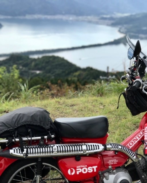 その2: CT110 ポスティで行こう!秋のツーリング♪ 念願の天橋立をバイクで縦断編_d0246961_13441406.jpg