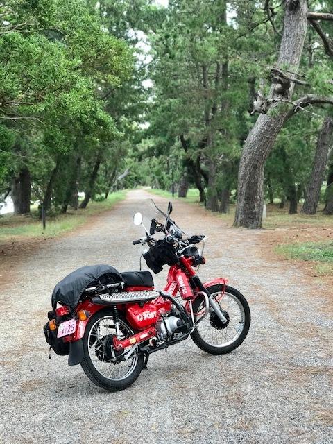 その2: CT110 ポスティで行こう!秋のツーリング♪ 念願の天橋立をバイクで縦断編_d0246961_13441577.jpg