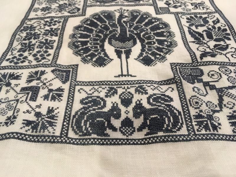 Linen  and Threads Mystery Sampler 17_a0374562_09043088.jpeg