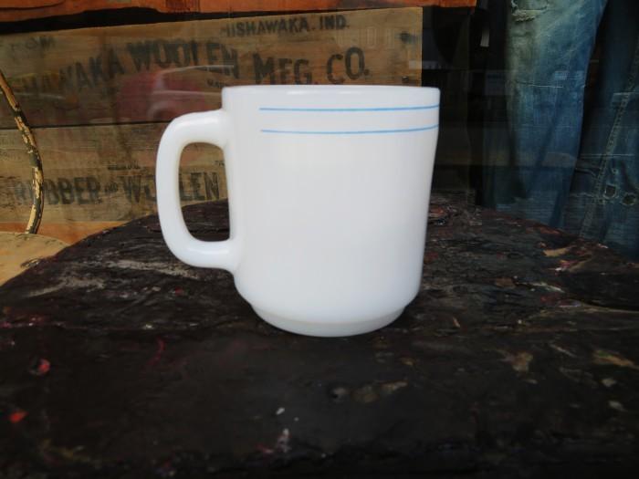 Vintage Glasbake Ad Mug SIX FLAGS_e0187362_18092278.jpg
