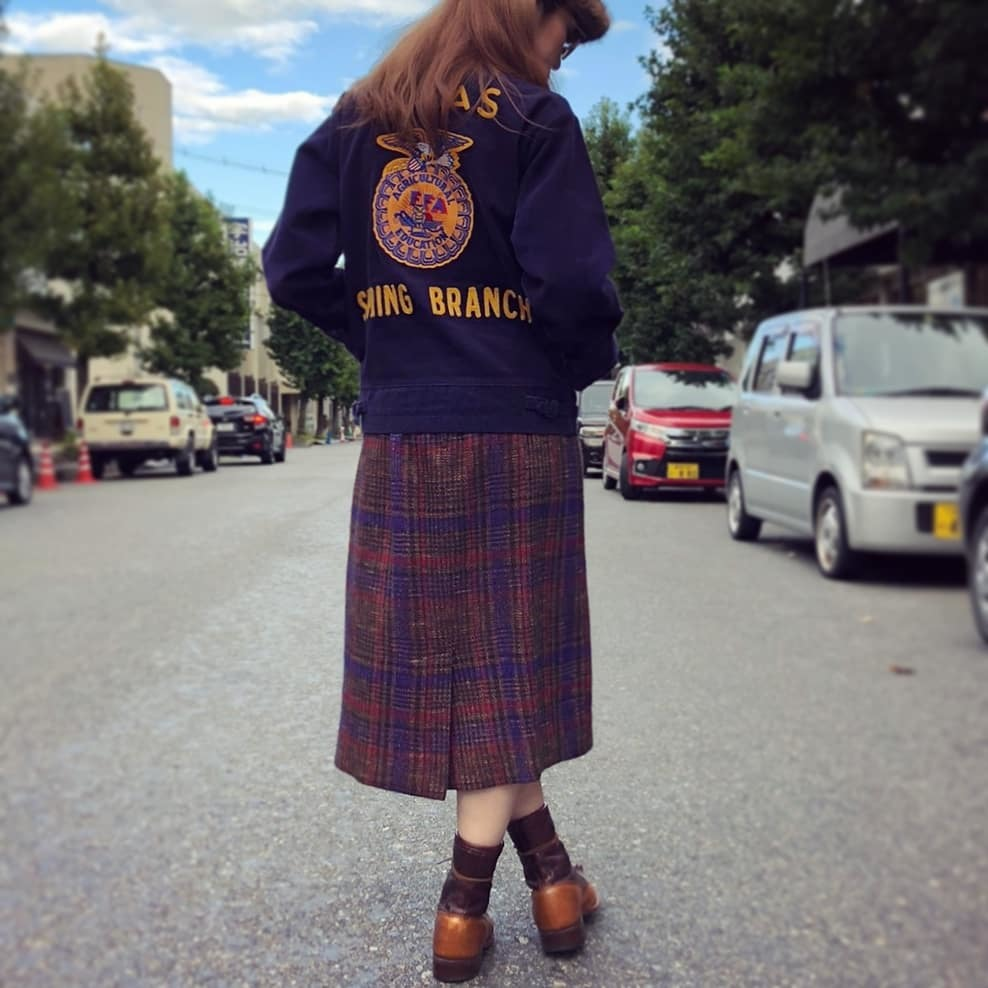 チェック柄タイトスカート♡♡♡_a0108963_18594186.jpg