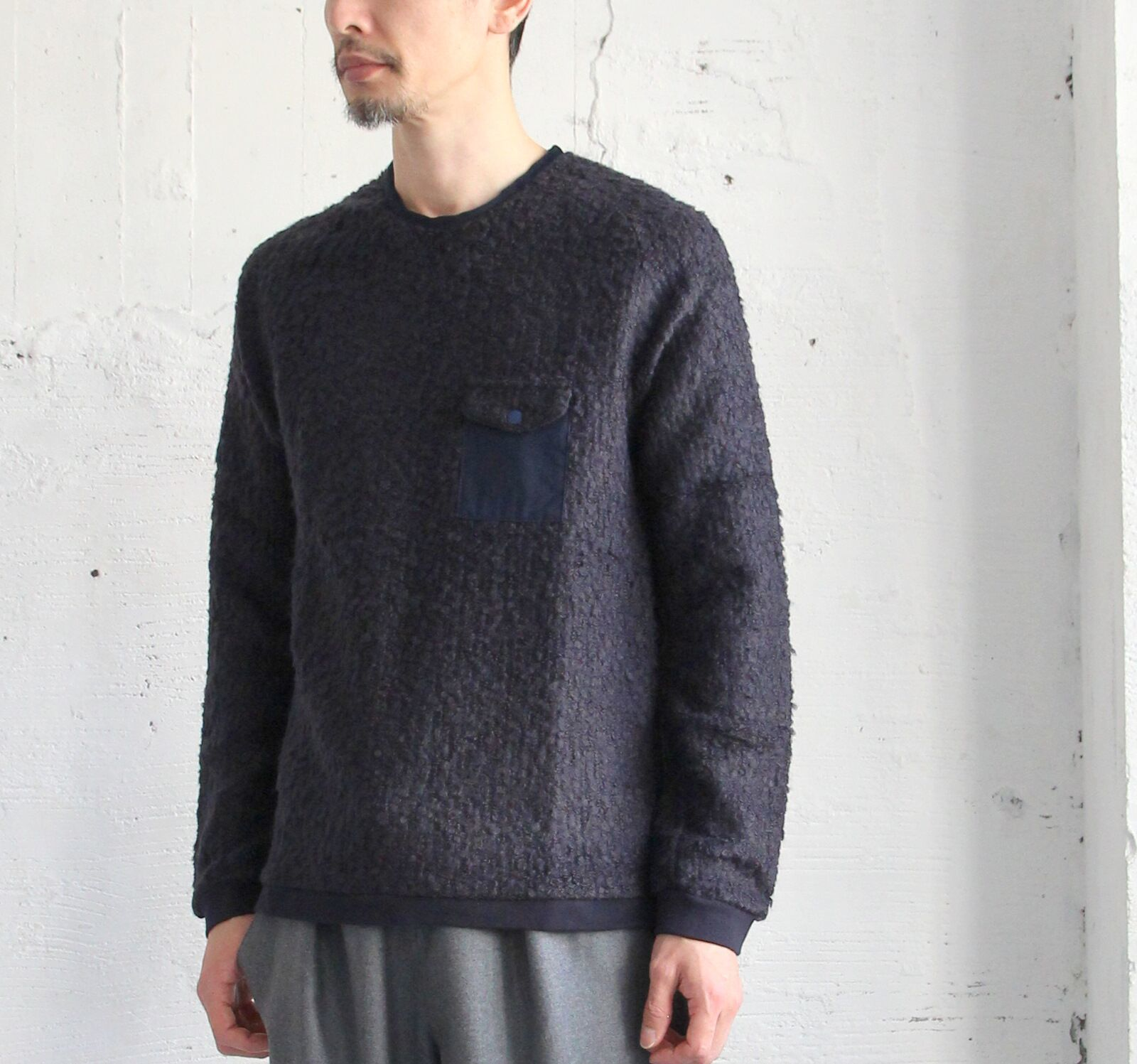 Wool Ring Pocket Pull Over_c0379477_16333944.jpeg