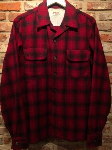 """1950s \"""" WEATHER WISE \"""" 100% WOOL VINTAGE - Ombre CHECK - BOX TAIL SHIRTS ._d0172088_16015203.jpg"""