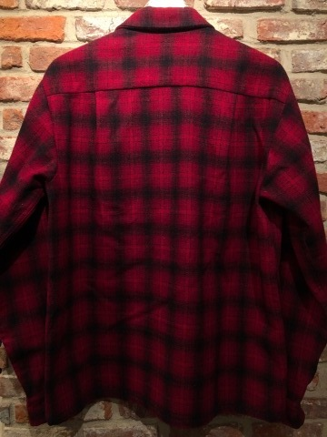 """1950s \"""" WEATHER WISE \"""" 100% WOOL VINTAGE - Ombre CHECK - BOX TAIL SHIRTS ._d0172088_16032421.jpg"""
