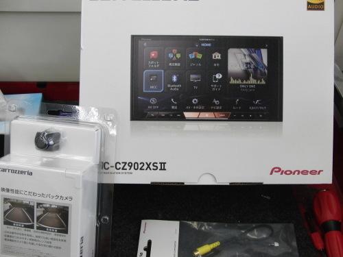 BRZに 新型サイバーナビXⅡ _c0360321_21173095.jpg