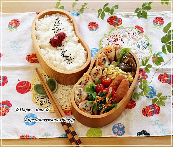 ポテトで肉巻き弁当♪_f0348032_16533392.jpg