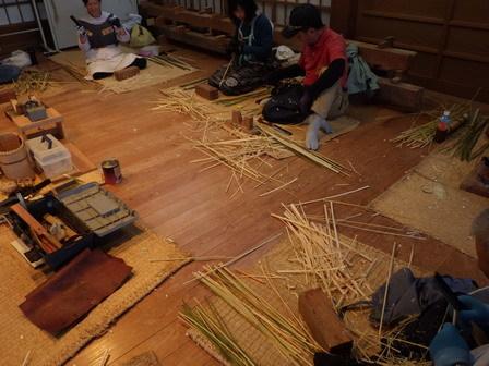 きのうの出水 / 竹かご教室一日目_a0123836_16484647.jpg
