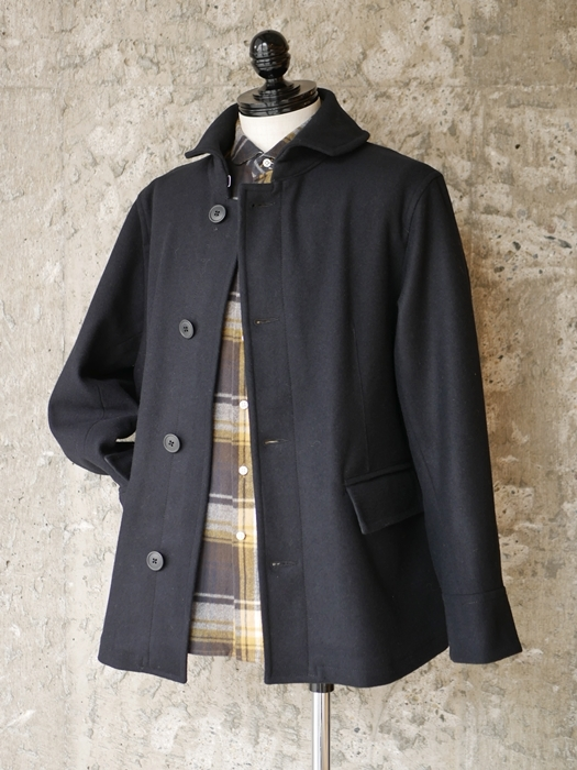 KATO\' Round Collar Single P-Coat_e0247148_12380246.jpg